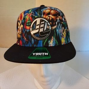 Justice League youth Flat Cap, New